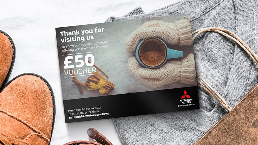 The season of giving may have ended but we want to combat the January Blues by giving you the chance to win a £50 Gift Card if you've visited us recently!  Just enter at:
