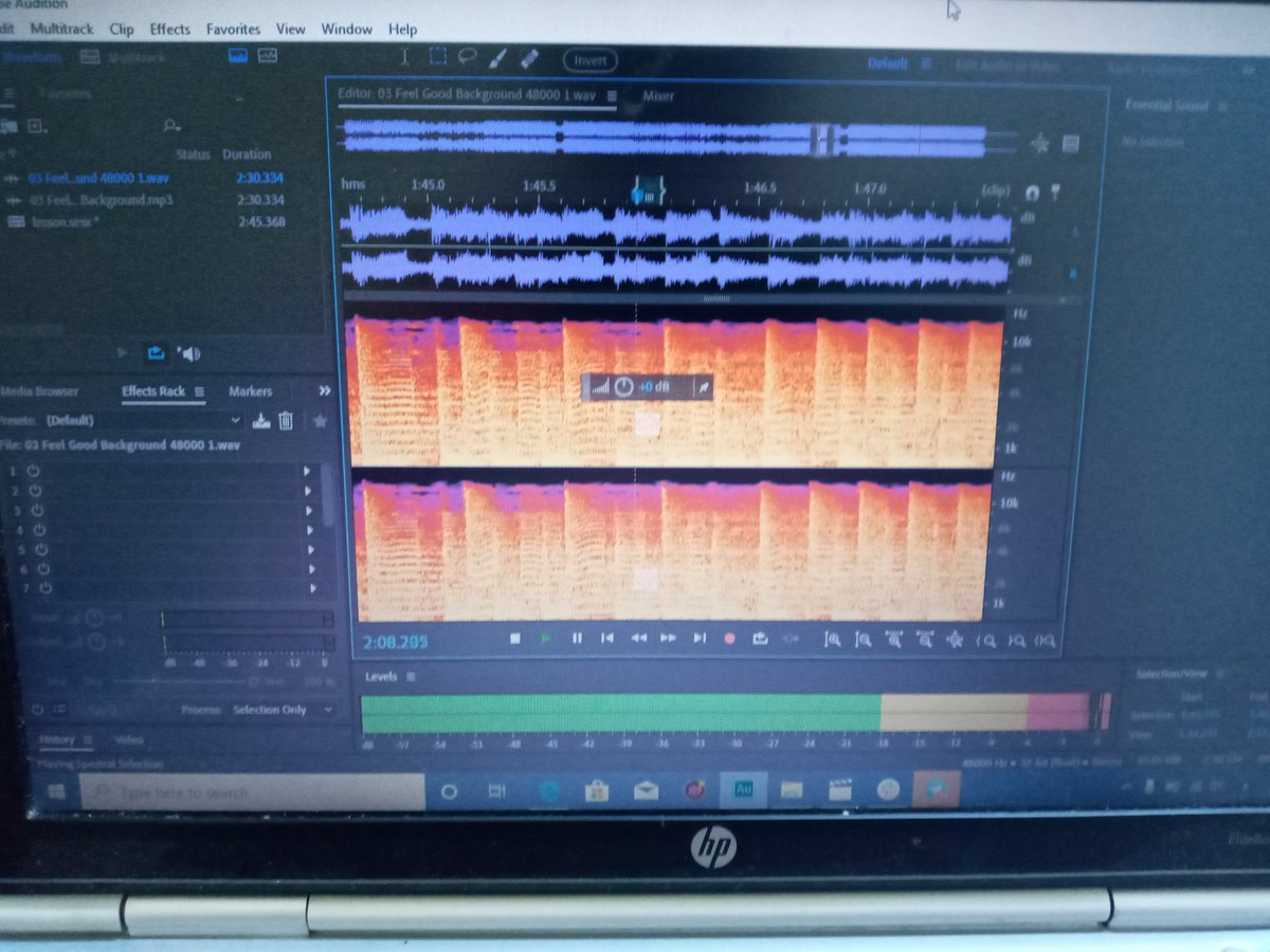 Audio montage  ... Adobe audition  one of my best challenges ever.. pic.twitter.com/XsrwZTZraJ