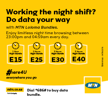 Mtn Eswatini On Twitter Q What Are Mtn Loloma Bundles A These Are Time Based Data Bundles That Grant You Uncapped Access To The Internet From 11 00 Pm To 5 00 Am Dial 686 1