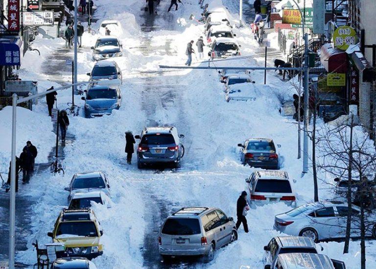 Estados Unidos sufrirá tormenta invernal