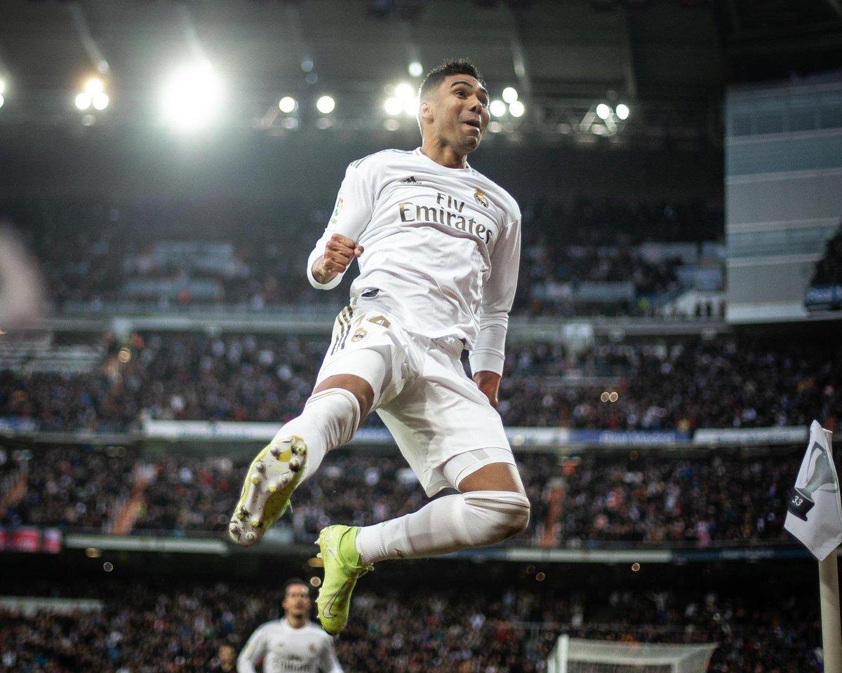 ⚽️⚽️➕3️⃣💪🏽 ¡Hala Madrid! #RealMadrid #RMLiga #HalaMadrid
