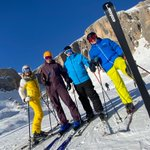 Image for the Tweet beginning: PlanetSKI returns to the #Dolomites,