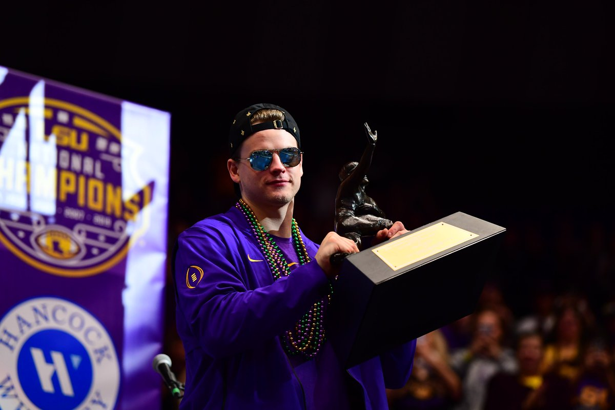 The Heisman Lives in Baton Rouge Forever
