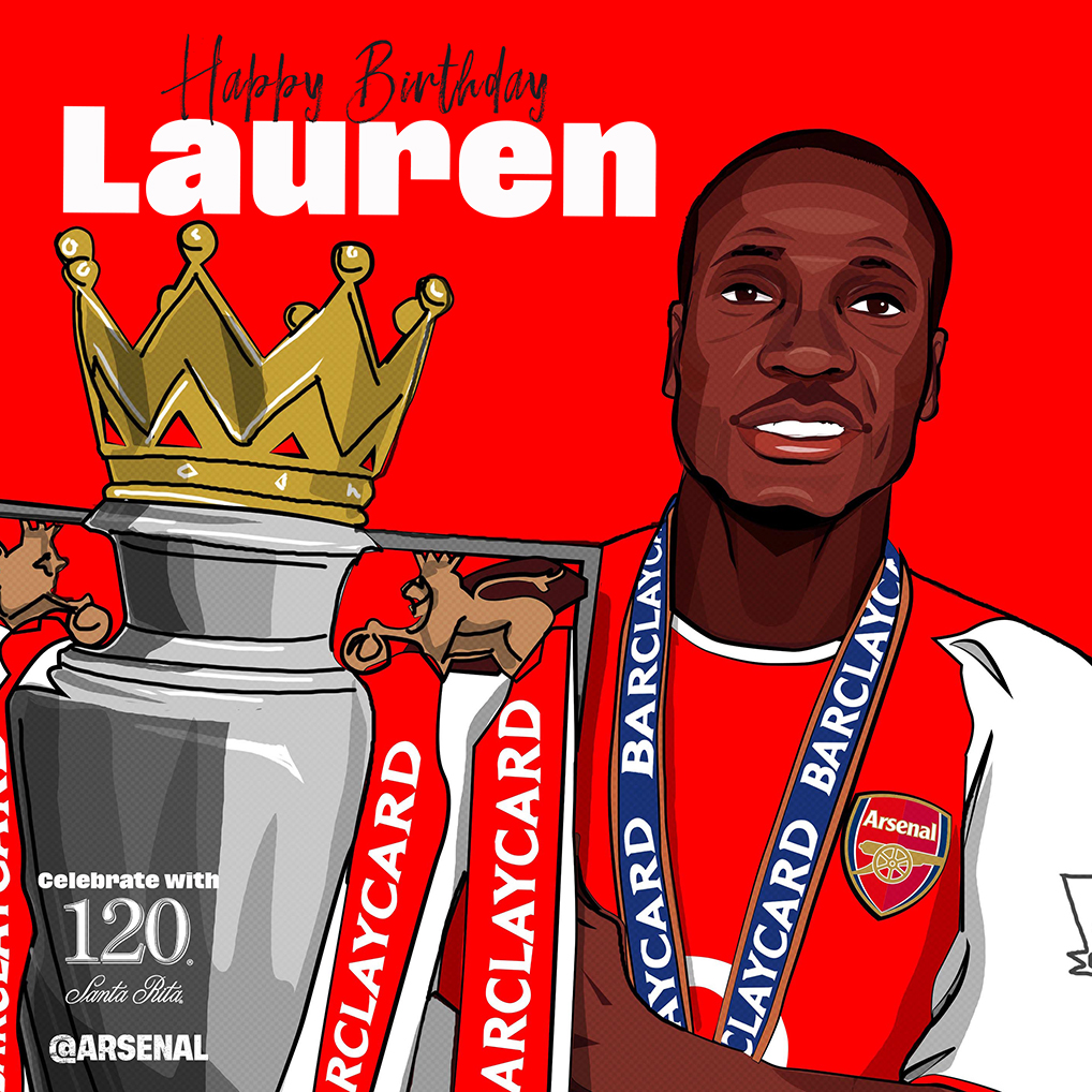 Happy birthday, Lauren! 🎈 🏆 @Lauren12arsenal ❤️