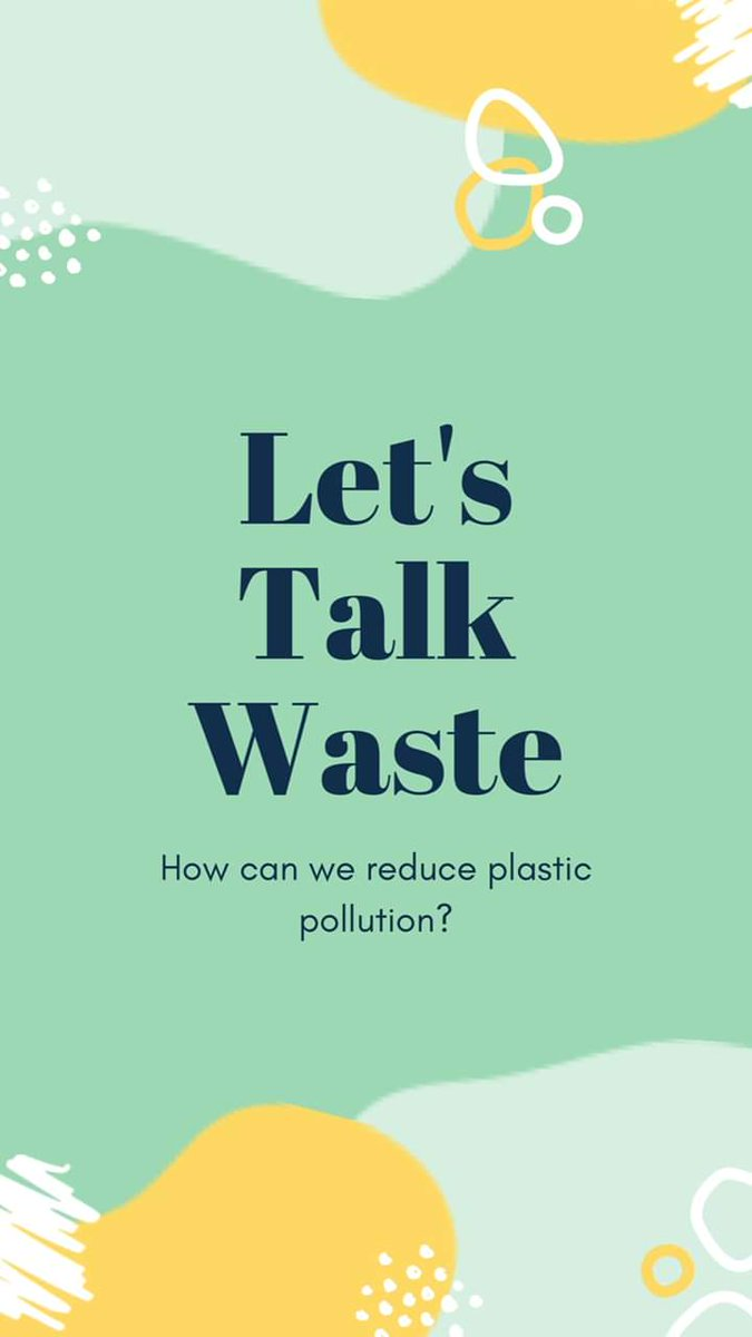 LETS TALK WASTE How can we reduce plastic pollution in Uganda? #reduceplasticwaste #YesWeCan  #letstalknowpic.twitter.com/GEgnUnrHUN