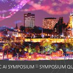 Image for the Tweet beginning: MARK YOUR CALENDAR  The QUEBEC AI