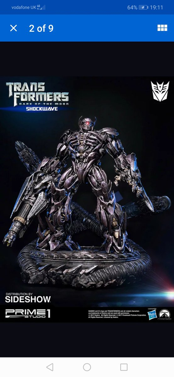 I always wanted a Shockwave statuepic.twitter.com/1AP56eT5tS