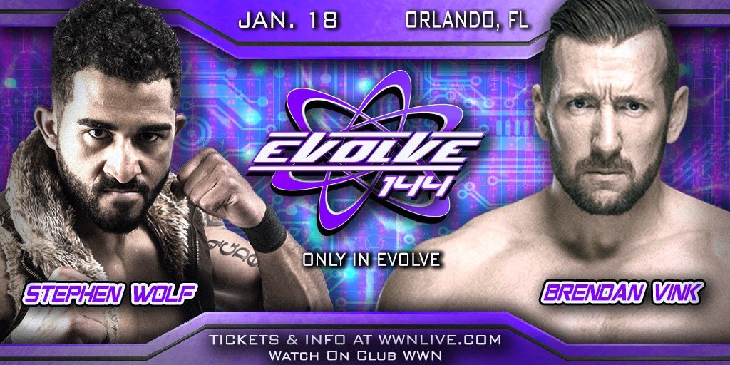 Time to take down a giant #EVOLVE144