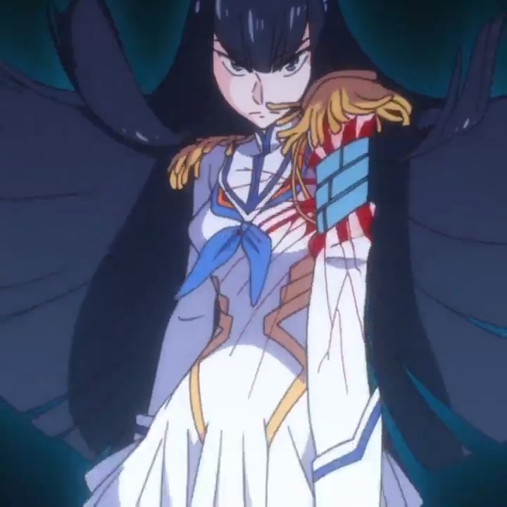 Kill la Kill didn't have to go this hard with Satsuki's transformation sequence, BUT IT DID.