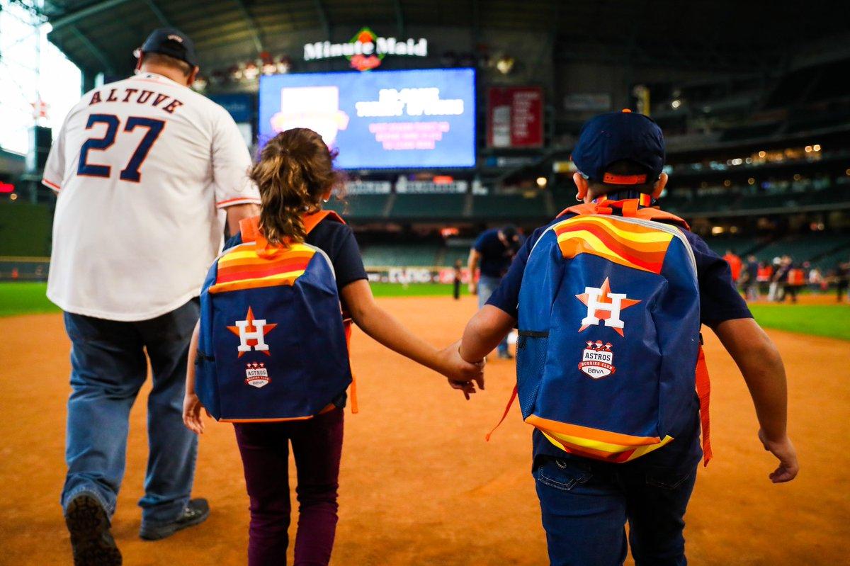 Show your pride in the #Astros Buddies Club, presented by @BBVA_USA! Astros.com/Buddies