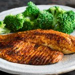 Image for the Tweet beginning: Try our Blackened Tilapia served