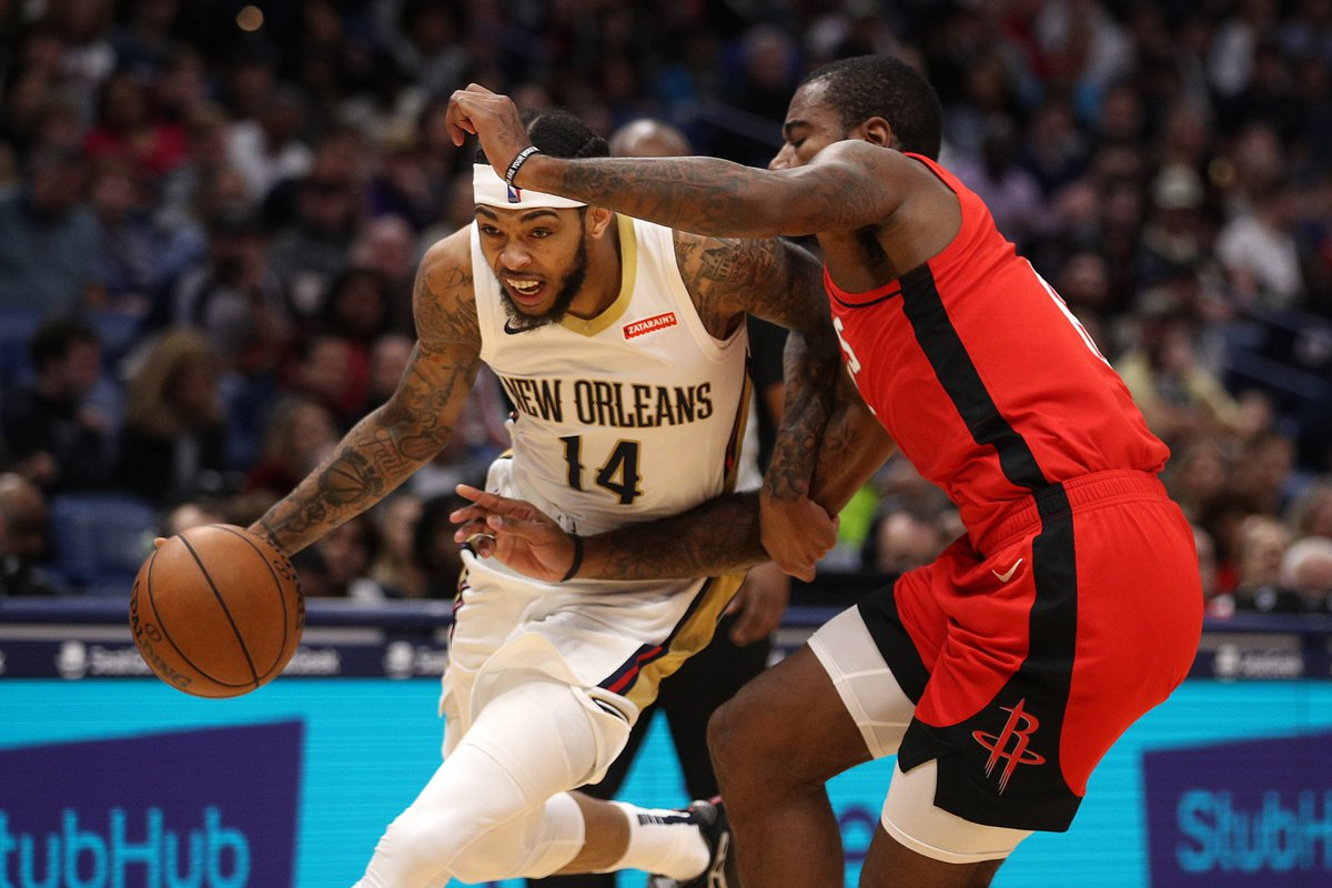 The Pelicans are 10-4 in their last 14 games. Since then, they rank 11th in offensive rating (112.3 OffRtg), 8th in defensive rating (108.6 DefRtg) and 9th in net rating (+3.7).  3:30pm/et: LAC@NOP 8:30pm/et: LAL@HOU  #NBAonABC Tune-In Tidbits: https://stats.nba.com/articles/tune-in-tidbits-abc-saturday-jan-18-2020/…