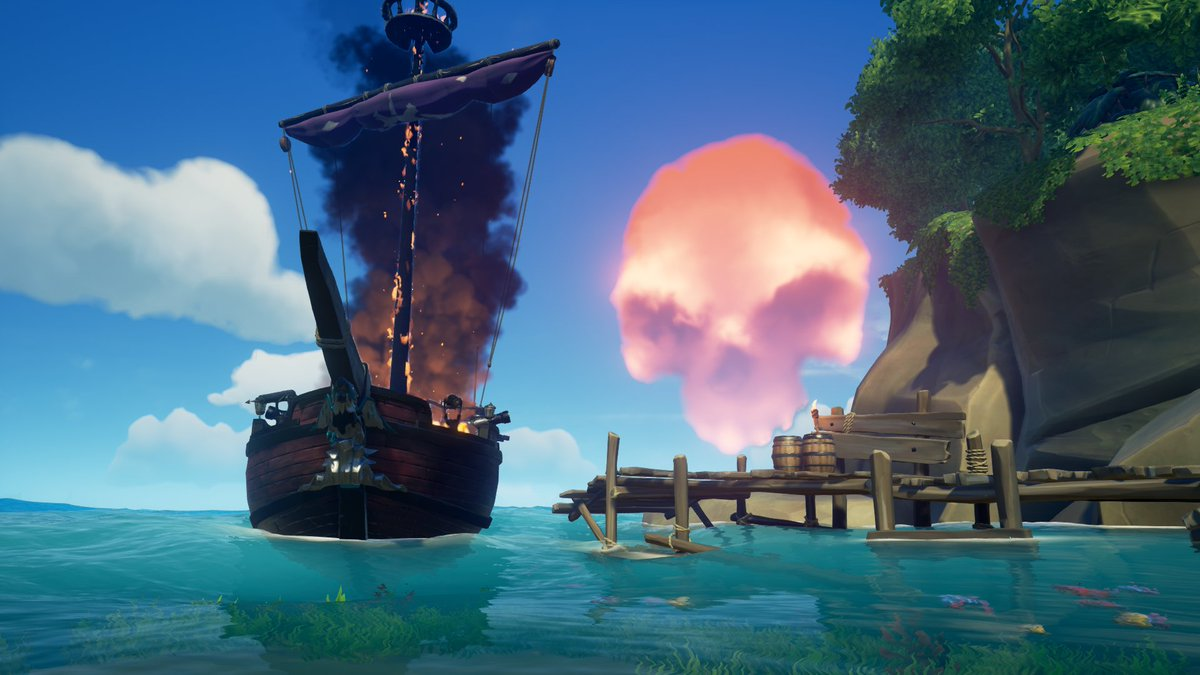 We are LIVE! Come watch me play Sea of Thieves on Twitch!    #seaofthieves #bemorepirate #apirateslife #sotshot @SeaOfThieves @AntimatterGG