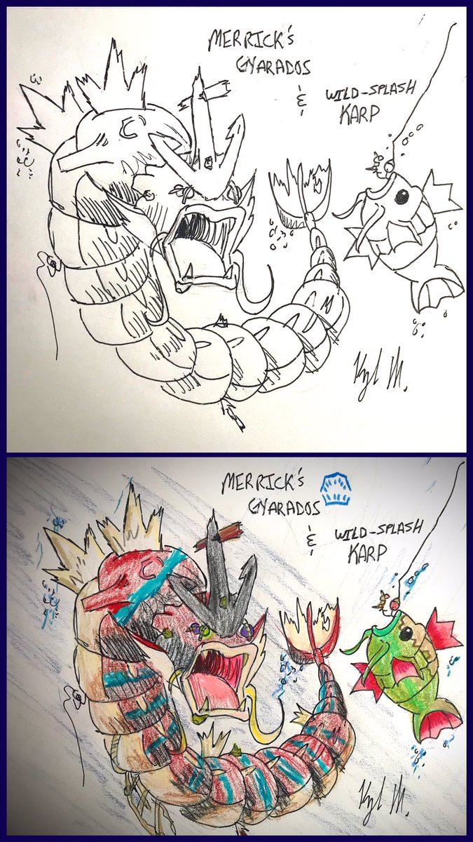 @SeaOfThieves #Pokemon #Mashup Up continues!! Thanks to everyone who made suggestions 💯🥰 #iloveyou3000 #fanart #sotSHOT #Gyarados #Salandit #Smeargle #Absol #Fish @kiralee_twitch @SHENRON_13 @MissCanadianeh_ @LauraS_GSP