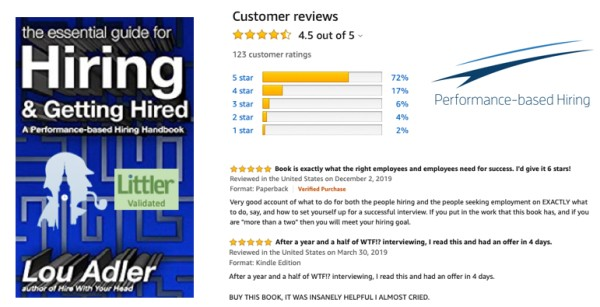 """""""The Essential Guide for Hiring & Getting Hired"""" = Highest NPS of any #hiring #interviewing #jobhunting #book on #Amazon - #jobs #glassdoor #ziprecruiter #indeed #career  http://tinyurl.com/t6kmczbpic.twitter.com/bPHyHstXzN"""