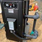 Image for the Tweet beginning: Instalación de bomba de calor