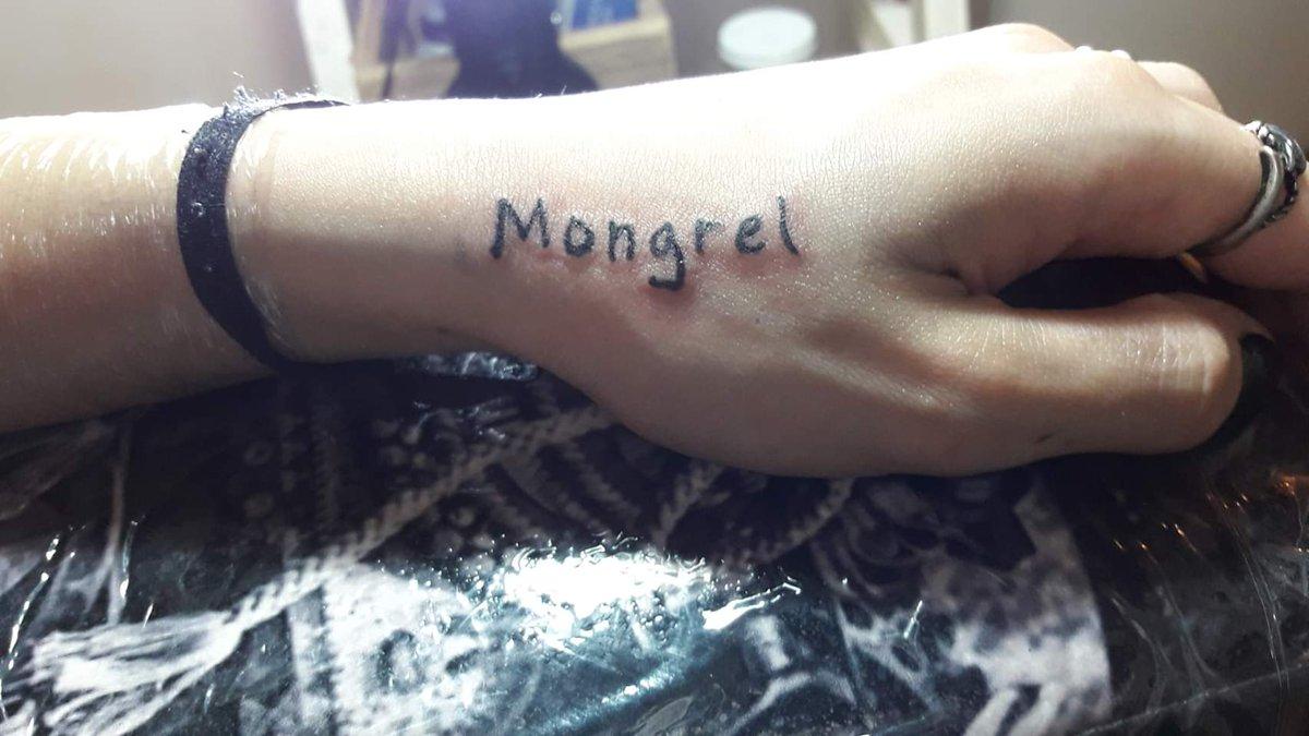 Mongrel forever. 💪🏽