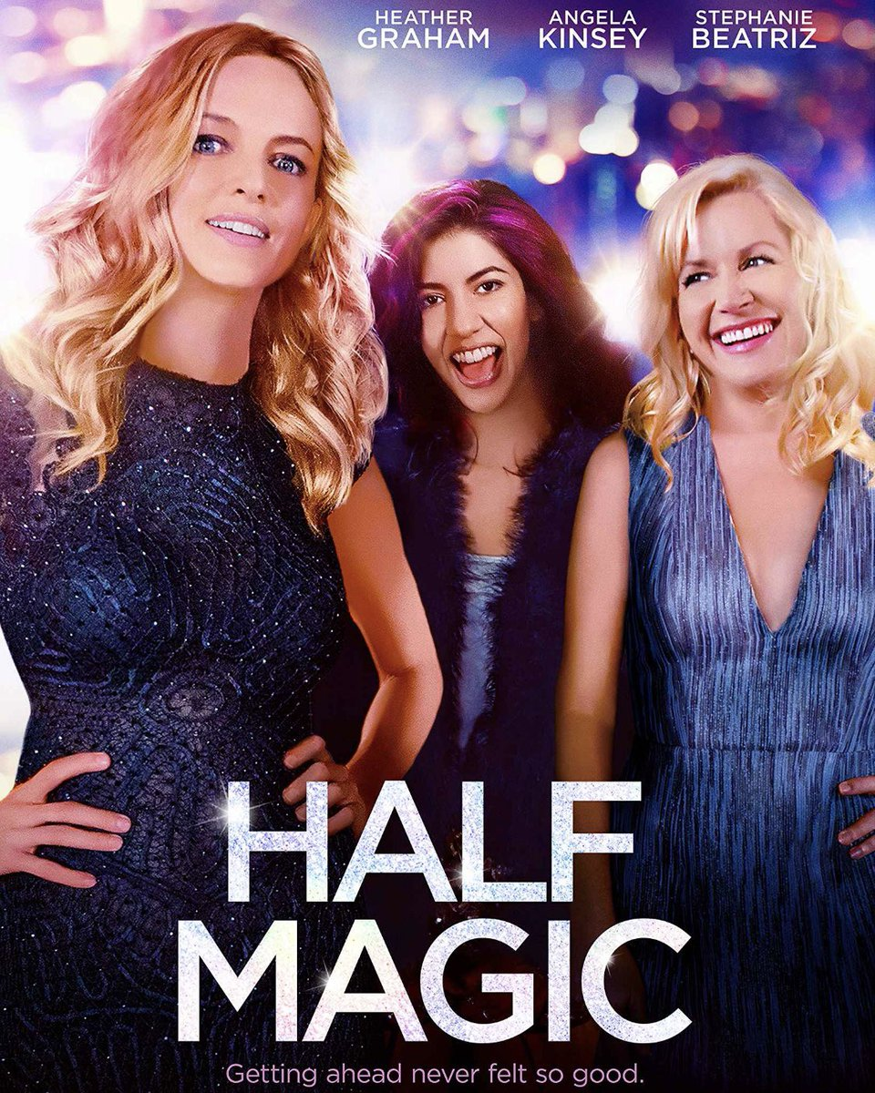 "Lady Alert!Watch Heather Graham's directorial debut ""Half Magic"" on @hulu ASAP!!!  ""My bodacious tatas honour me and they honour you."" #selflove #pussypower #heathergraham #halfmagic #girlpower #divinefeminine @AngelaKinsey #stephaniebeatrizpic.twitter.com/GsZ1Ud1UMj"