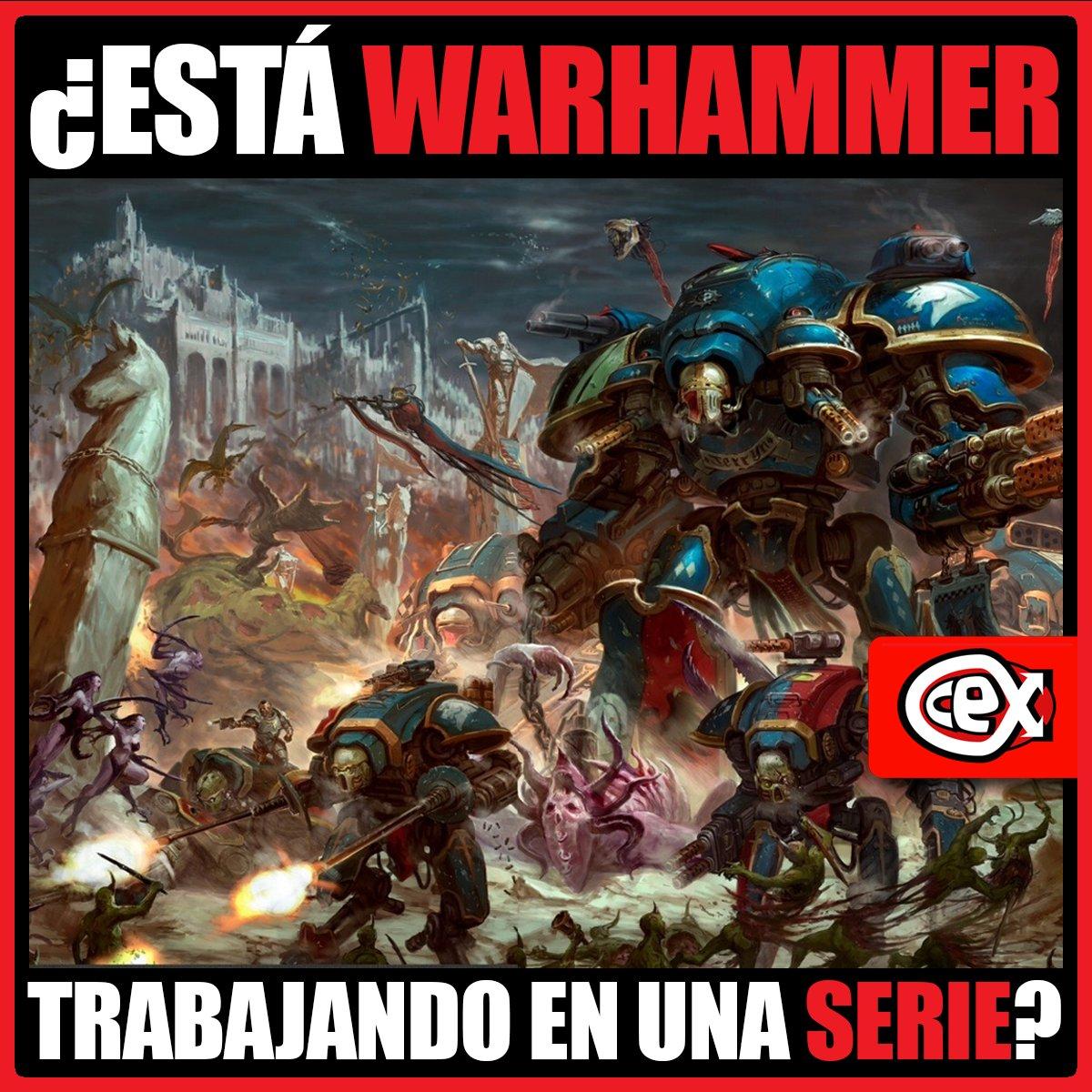 #KevinRountree, CEO de #GamesWorkshop, ha revelado que se encuentran trabajando en una nueva serie de #Warhammer. Aunque su producción aún no ha empezado, su objetivo es contentar tanto a los recién aterrizados como a los más veteranos del universo Warhammer. #CeX #Webuypic.twitter.com/2HBNnH1ps6