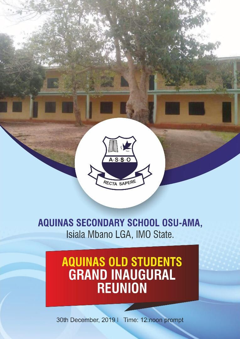 Excitement as Imo's Aquinas college old students reunite 57 years after - https://www.sunnewsonline.com/excitement-as-imos-aquinas-college-old-students-reunite-57years-after/…pic.twitter.com/HTz9TU4w1v