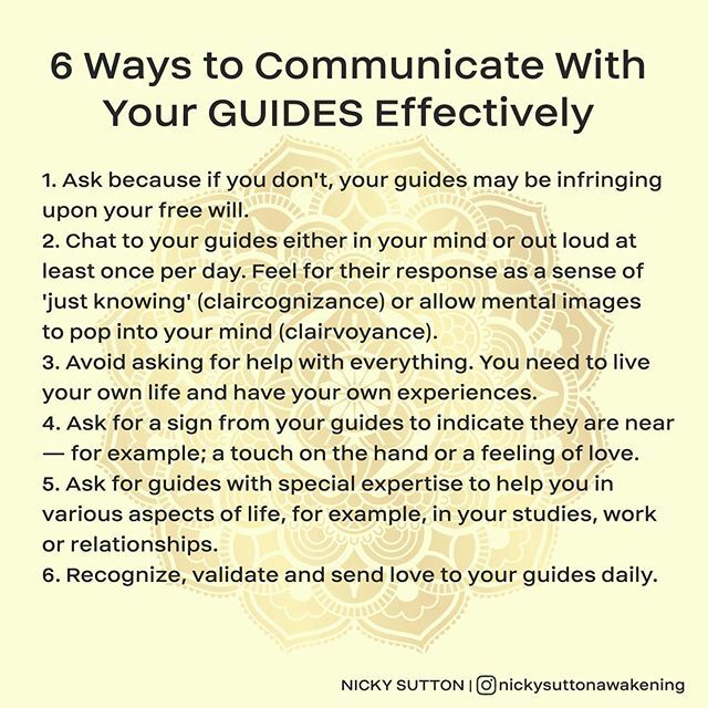 6 ways to improve communication, or even start communicating with your guides  Lots of love! #spiritguides #spiritguidesbelike #spiritguidesme #vibratehigher #angelguides #spiritualguides #animalguides #trustyourspiritguides #spiritualawakening #angelmessages #angeli…pic.twitter.com/5Jbqvs3Cdu