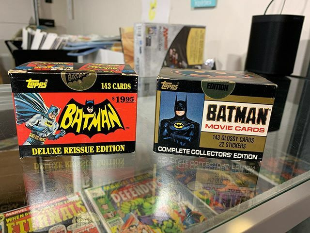 Check it out! Vintage Batman trading cards still sealed in the box! #igcomicfam #igcomicbooks #igcomicfamily #igcomicbookfamily #igcomicbookcommunity #igcomiccommunity #igcomicbookfam #comics #comicbooks #igcomic #igcomicsfam #igcomicsfamily #igcomiccollector #igcomicbookcol…pic.twitter.com/cbHo4R3Ll8
