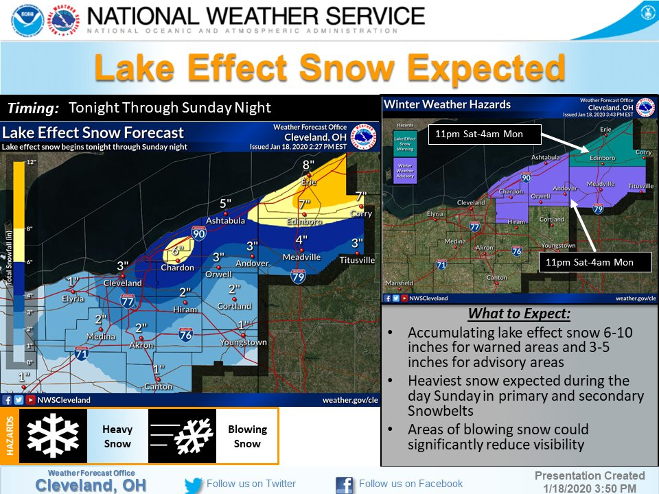 In District 4, we have 130 plows ready to take on the lake effect snow starting tonight! #ODOTwinter