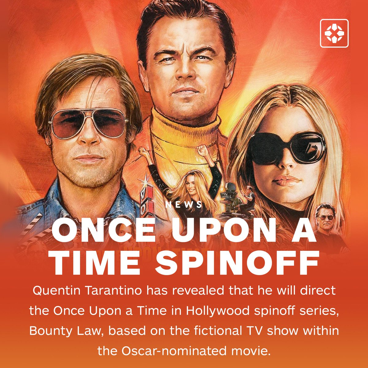 Quentin Tarantino revealed he will direct Bounty Law, a television spinoff based on Once Upon a Time in Hollywood's fictional show. <br>http://pic.twitter.com/6uEI3Rnh2h