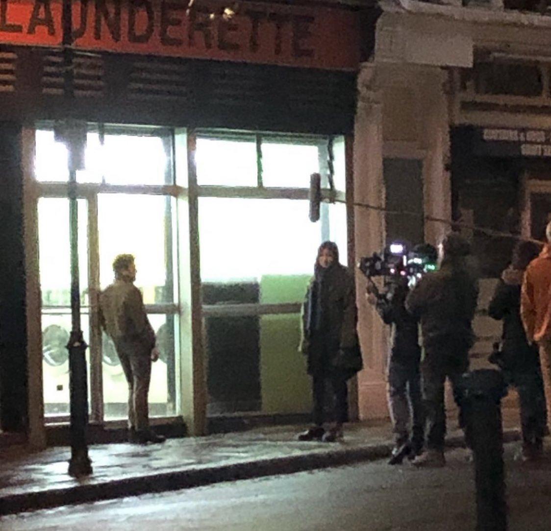 Nouvelles photos de tournage de #TheEternals, avec Gemma Chan (Sersi) et Kit Harington (Dane Whitman/Black Knight).