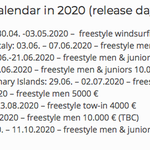 Image for the Tweet beginning: The European Freestyle Pro Tour
