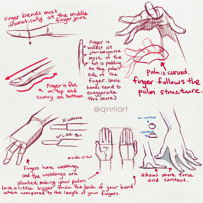 Our feature tutoria/artistl for #LEARNUARY today is another awesome set of HAND REFS and DRAWING TIPS by the excellent @qinniart! Lots of GREAT approaches here :) #gamedev #animation #draw #howtodraw #drawingtutorial #conceptart #gamedev #animationdev #gameart #characterdesign<br>http://pic.twitter.com/DpsRmonwrT
