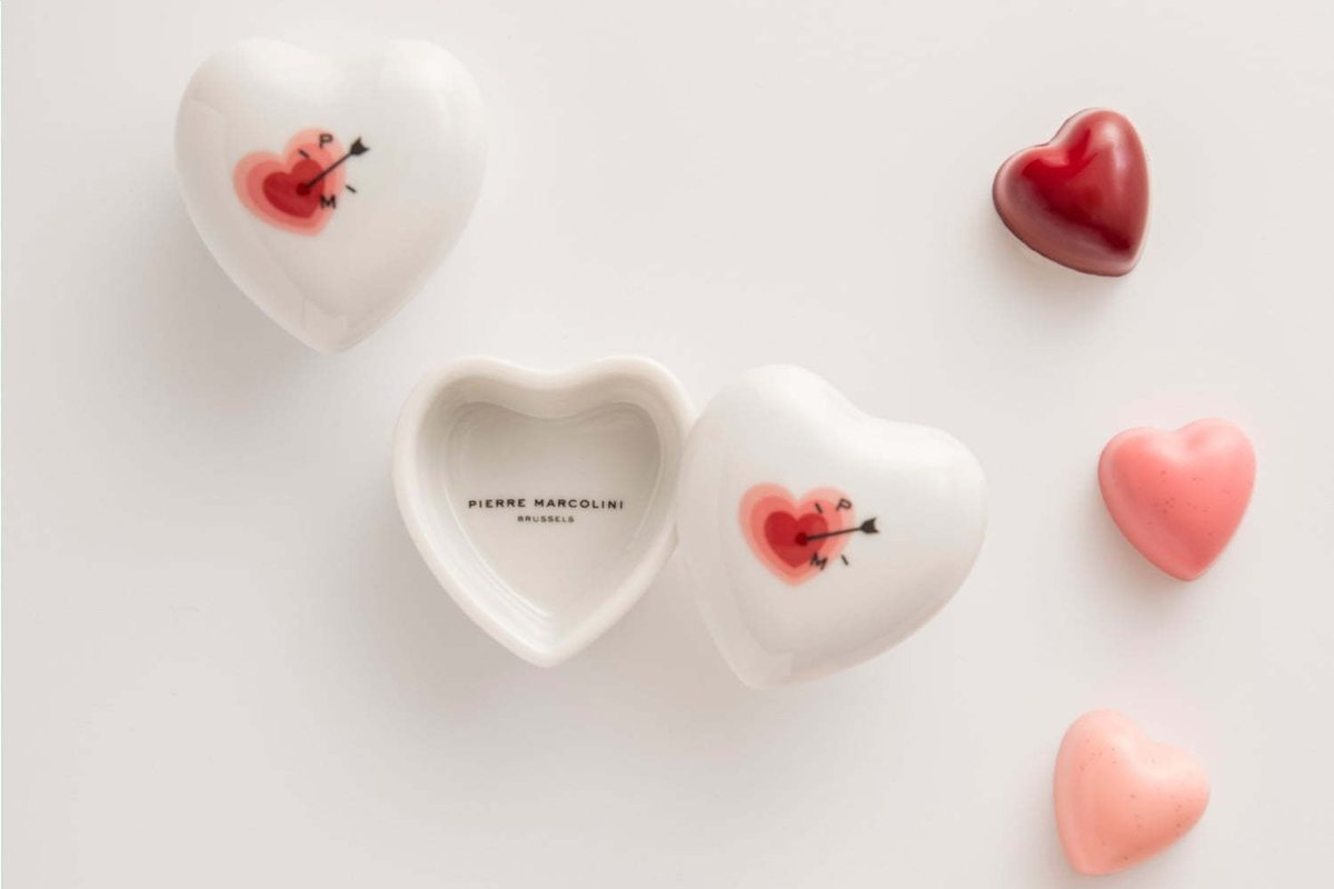 [1月下旬発売] ピエール マルコリーニ「バレンタインデー 2020」新作ハート型チョコ&