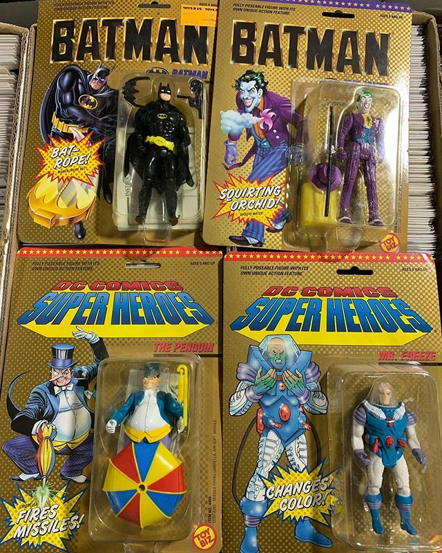 Batman 1989 movie action figures still in the box! BATMANIA LIVES! #igcomicfam #igcomicbooks #igcomicfamily #igcomicbookfamily #igcomicbookcommunity #igcomiccommunity #igcomicbookfam #comics #comicbooks #igcomic #igcomicsfam #igcomicsfamily #igcomiccollector #igcomicbookcoll…pic.twitter.com/kTH4pbj3g4