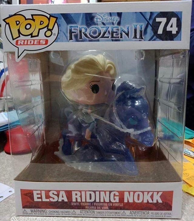 Coming Soon: Disney Frozen 2 - Elsa Riding Nokk Pop! Rides . Repost @dis.pops ift.tt/368Y7XI