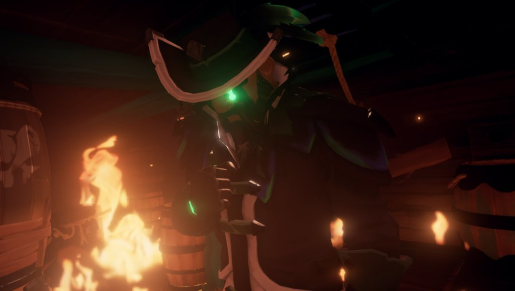 """Going down with the ship in style."" posted by u/kcemery in r/SeaOfFashion  #SeaOfFashion #BeMorePirate #SoTShot #SeaOfThieves"