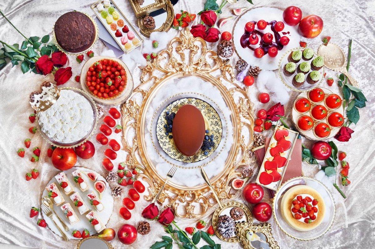 [明日から開催] 『白雪姫』の苺&りんごスイーツブッフェ、ホテル インターコンチネンタル 東京ベイで開催 -