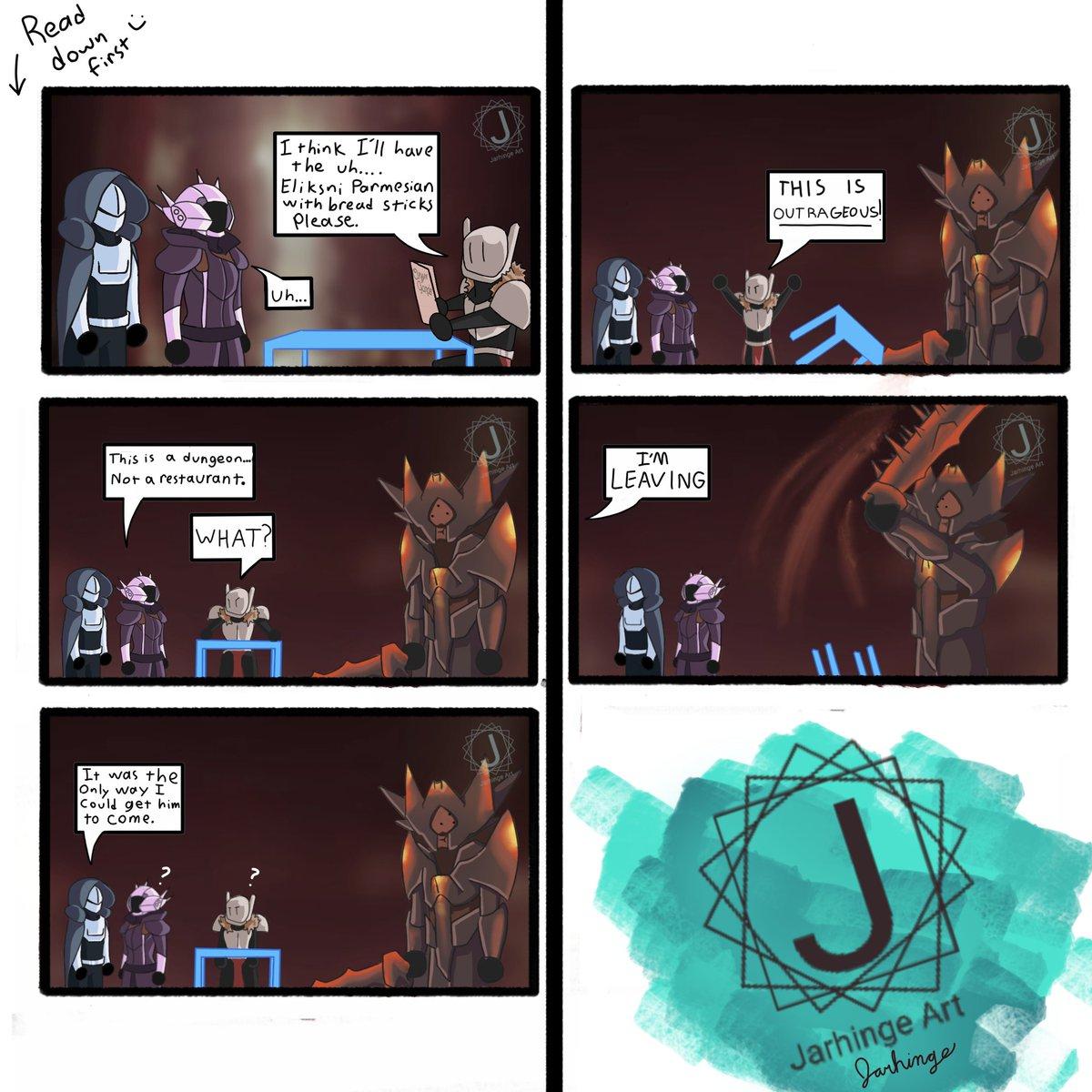 """""""This isn't Oryx Garden..."""" - @JarhingeArt"""