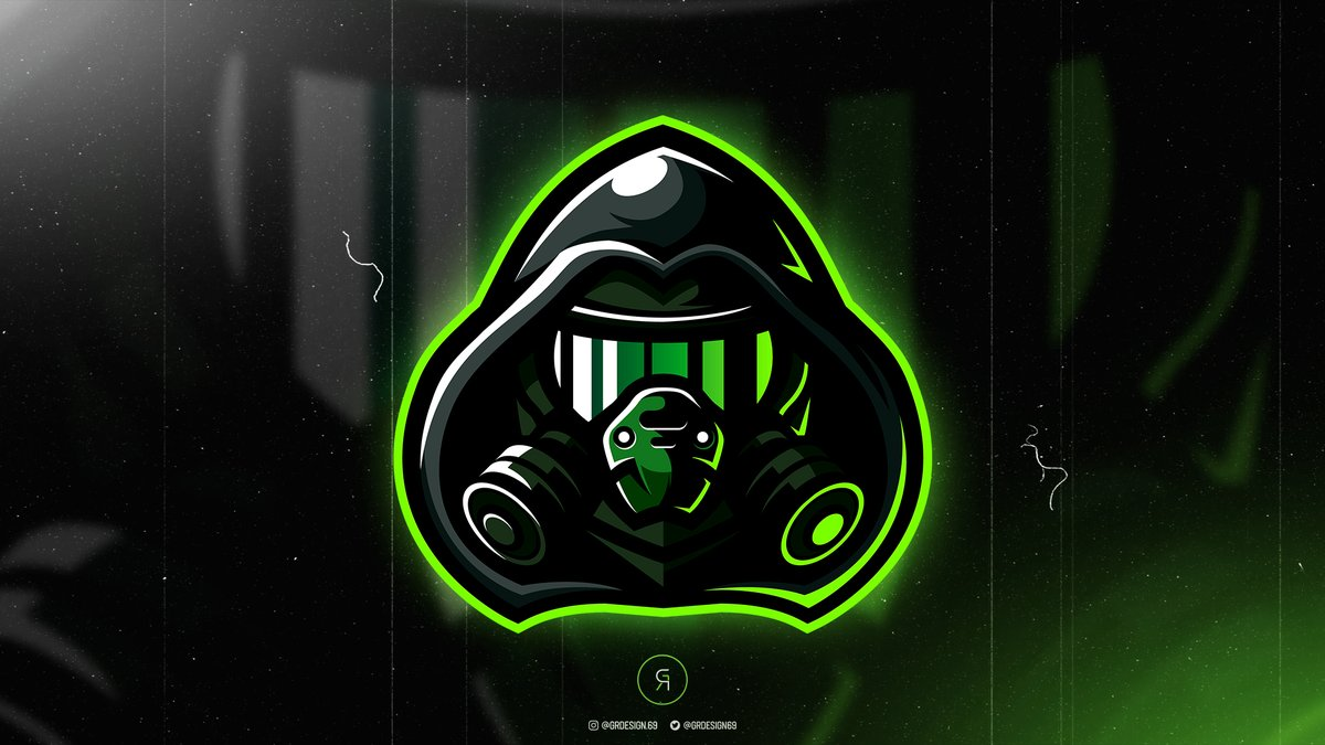 New #MascotLogo Gas Mask  For Sale   Color Edit   All support is appreciated   Do you want a logo like that? Hit us on DM pic.twitter.com/ihHGL46uvX