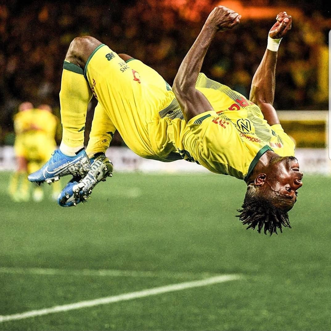 What a great game for Simon Moses!  • He scored a goal and provided 2 assists, as Nantes lost 4-3 to Lyon in #CoupeDeFrance.  • 16' :   • 82' :   • 86':   #FCNOL<br>http://pic.twitter.com/5mM1Di4EMU