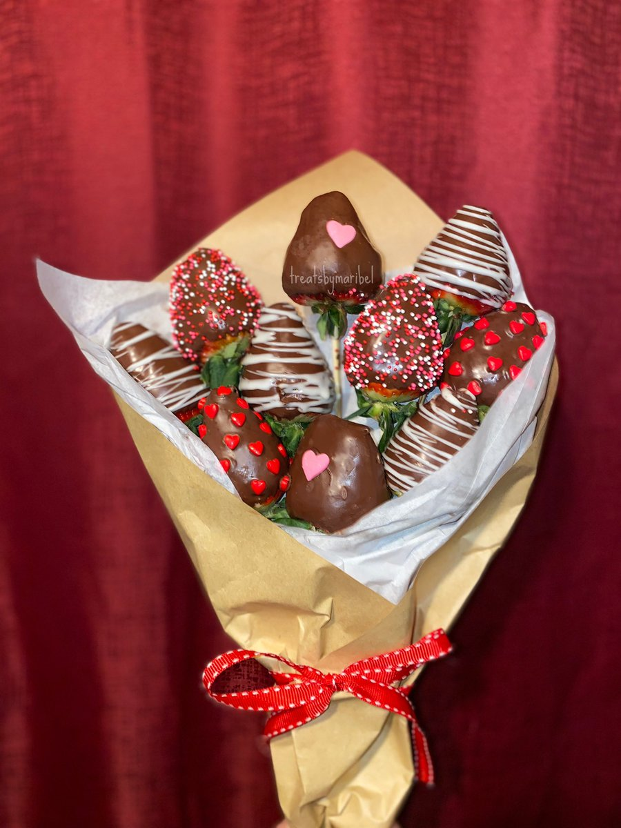 Maribel On Twitter Chocolate Covered Strawberry Bouquets Includes 10 Valentine S Day Themed Chocolate Covered Strawberries 35 Available For Pickup Feb13th Feb14th Located In Colusa Https T Co I9udsuu0wn