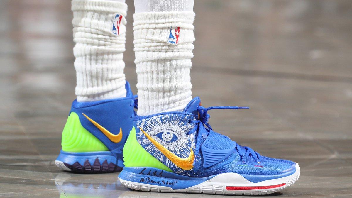New Kyrie 6s for @KyrieIrving! #NBAKicks