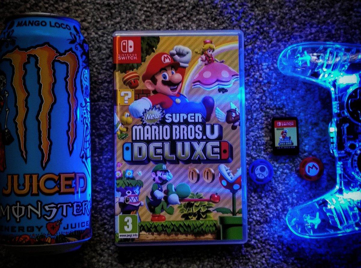 Looking forward to getting Started on Super Mario Bros U DELUXE Tomorrow #supermariobrosudeluxe #supermariobros #supermario #nintendoswitch #NintendoSwitchLite #nintendoswitchgames #Nintendo #Switch #switchprocontroller #monsterenergy #handheldgaming #handheldgamers #rustygamerpic.twitter.com/rZyrIqb7I7
