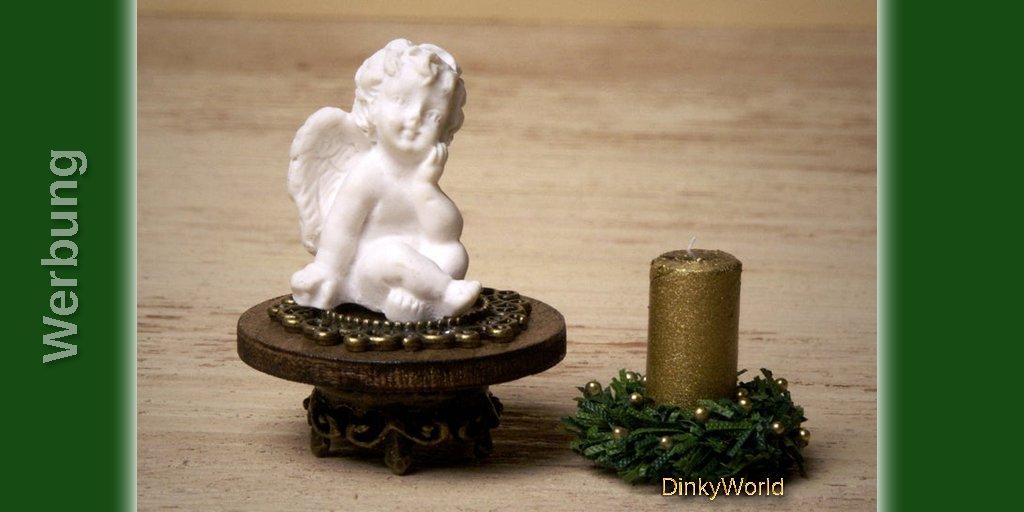 Dekoratives Miniatur-Engelchen fürs Puppenhaus https://etsy.me/2YQfdYt #christmaspic.twitter.com/cdIMnWuP5G