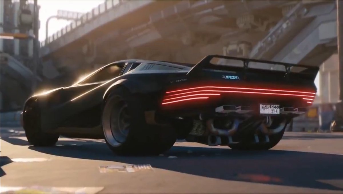 How's ready for Cyberpunk 2077 to be released this year. I sure fucking am, can't wait to get my hands on this futuristic hyper car! #Cyberpunk2077 <br>http://pic.twitter.com/DGQjOxex44