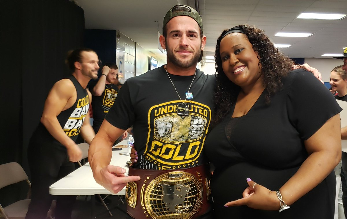 Thank you @roderickstrong for the photo tonight always nice meeting you! #WWENXT