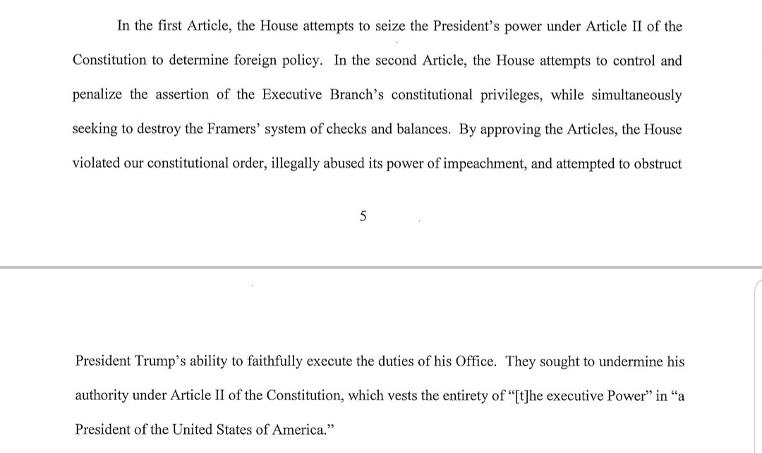 """the big slam-dunk constitution quote at the end of the sekulow/trump response is just the part where we say """"we're gonna have a president"""" pic.twitter.com/634TaLbnwt"""