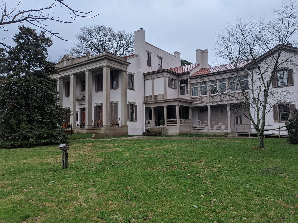 The Belle Meade Plantation in Nashville, Tennessee.