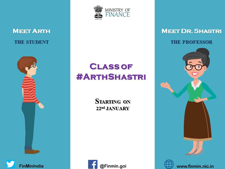 Curious student Arth unpacks his box of questions in Prof. Shastri's class. Let's see how Dr. Shastri tackles his difficult questions with her sharp insight. Tune into this space to join the classes starting 22nd January @ 11am. #ArthShastri