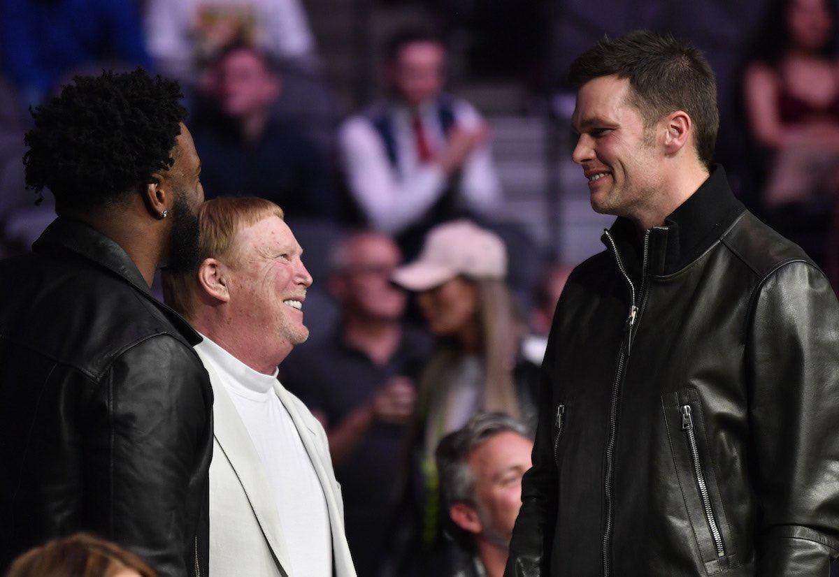 Photo of Tom Brady, Raiders owner Mark Davis has NFL world wondering