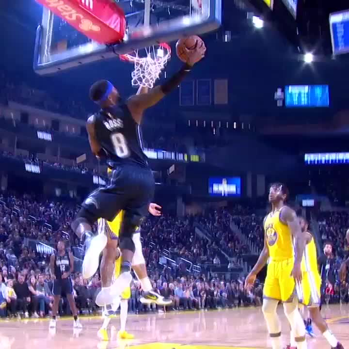 Terrence Ross has BOUNCE 🐰  #MagicAboveAll